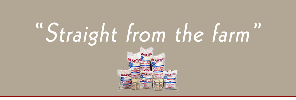 Martin Rice Company - wholesale and retail suppliers of rice